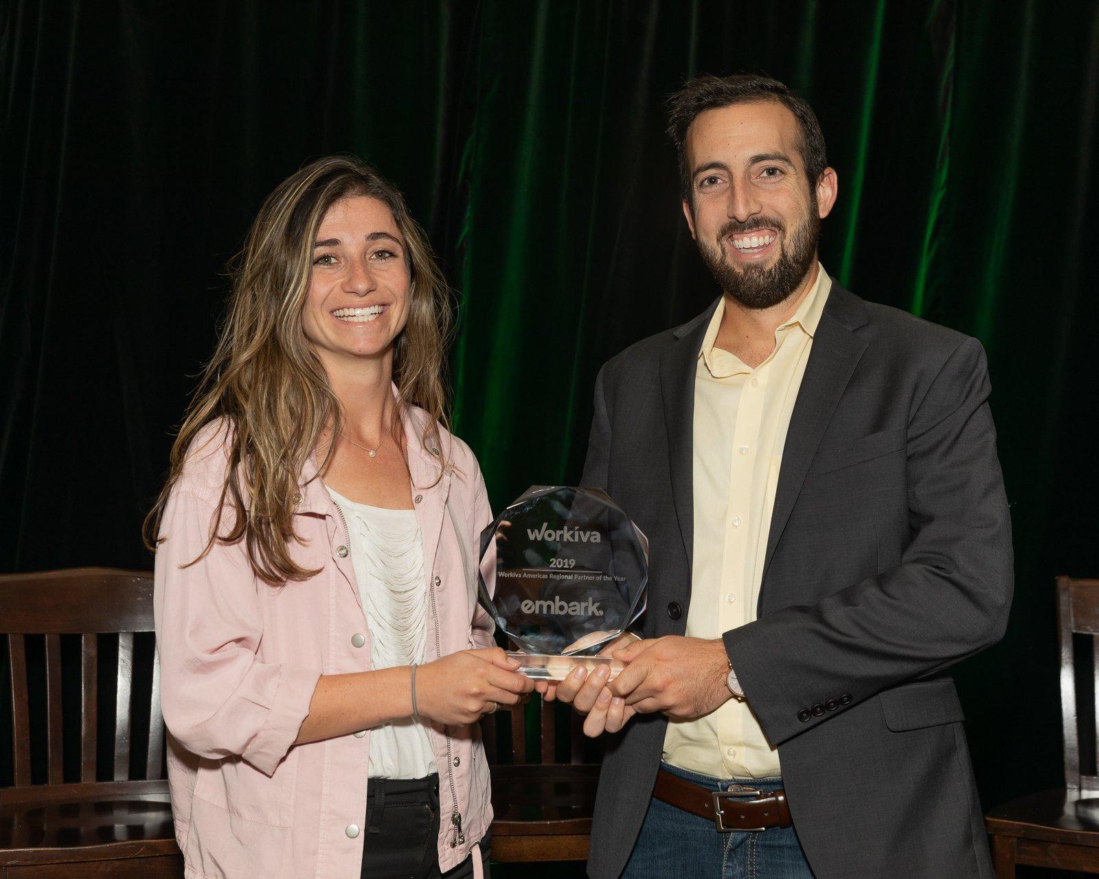 Embark Workiva Award Photo