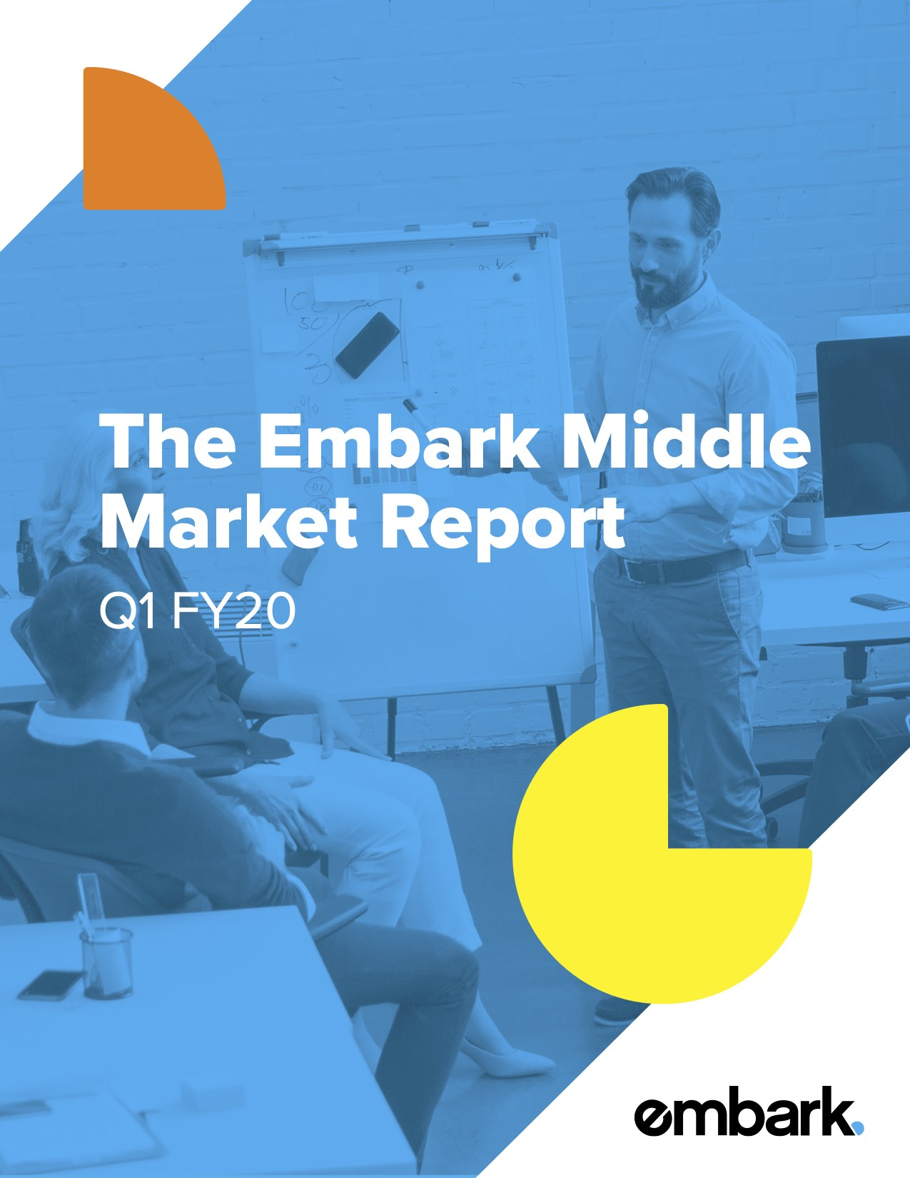 Middle Market Report - Q1 FY20 cover image